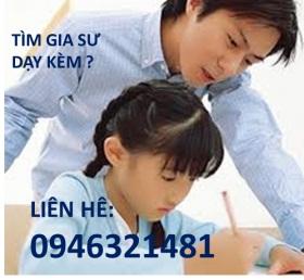 Tìm giáo viên tiểu học, gia sư cấp 1, sinh viên dạy kèm toán tiếng việt lớp 3 tại Tp.HCM